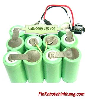 Pin máy hút bụi 14.4v-SC2000mAh, Pin sạc NiMh-NiCd chính hãng (Bảo hành 6 tháng)
