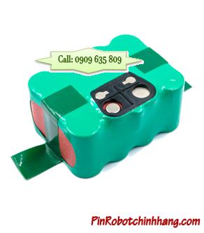 14.4v-SC2000mAh, Pin Robot Lau Nhà-Pin Sạc NiMh 14.4v-SC2000mAh (Bảo Hành 6 Tháng)
