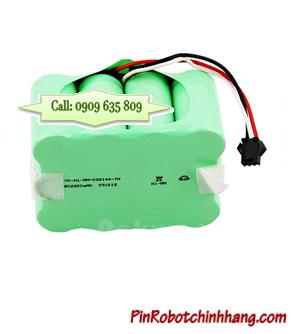 Pin iRobot 14.4v 2200mAh; Pin máy hút bụi 14.4v 2200mAh (Bảo hành 6 tháng)