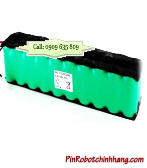 Pin máy hút bụi 24v-SC2000mAh (NiMh 24v SC2000mAh Battery)| Bảo hành 6 tháng