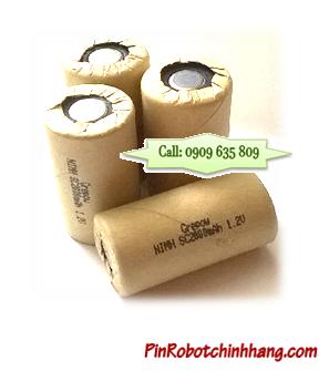 SC2000mAh -1.2v, Pin Cell chuyên dụng để bấm ghép thành khối cho iRobot, Máy hút bụi | HÀNG CÓ SẲN