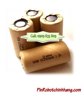 SC3900mAh-1.2v; Pin Cell chuyên dụng để bấm ghép thành khối cho iRobot, Máy hút bụi | HÀNG CÓ SẲN