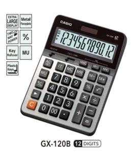 MÁY TÍNH CASIO ĐỂ BÀN GX-120B