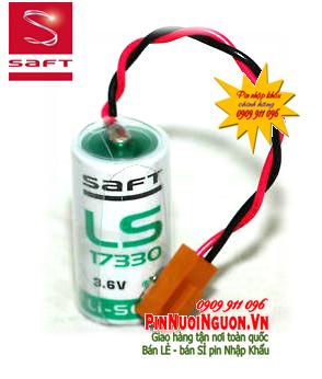 Pin nuôi nguồn PLC Saft LS17330V lithium 3.6v 2/3A chính hãng Made in France