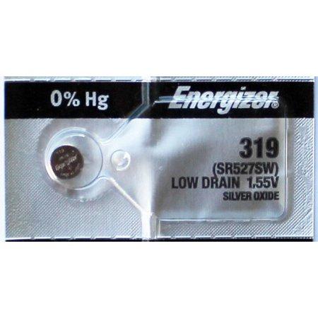 Pin đồng hồ đeo tay 1,55v Silver Oxide Energizer 319,SR527SW chính hãng Made in USA