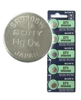 Pin SR920SW-Pin 371; Pin đồng hồ Sony SR920SW-371 silver oxide 1.55v chính hãng