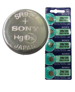 Pin SR927SW-Pin 395; Pin đồng hồ Sony SR927SW-395 silver oxide 1.55v chính hãng