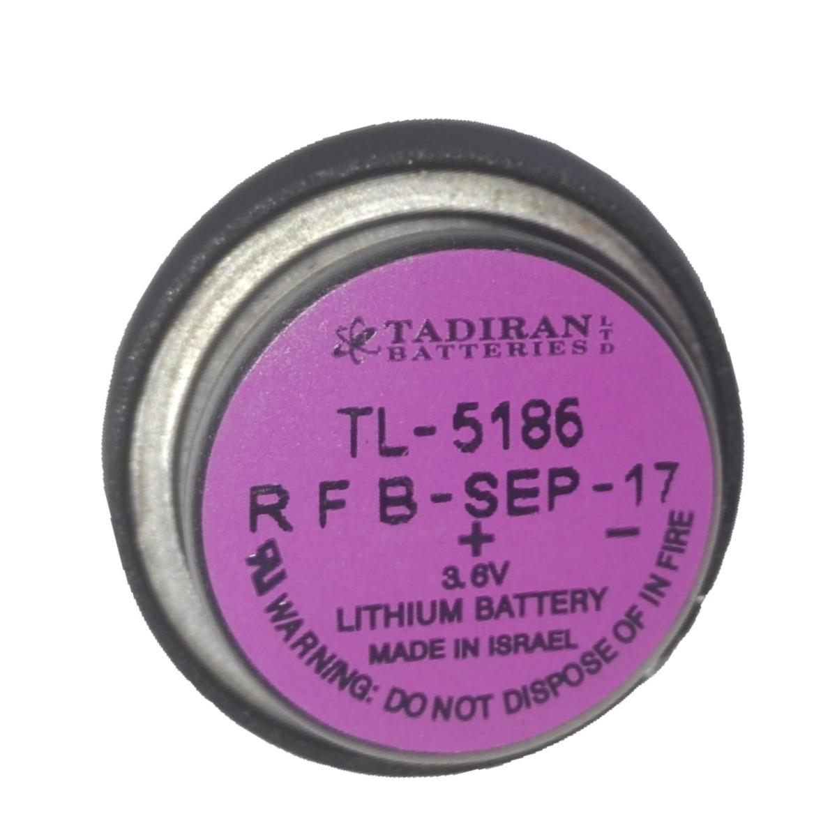 Pin nuôi nguồn Tadiran TL-5186 Lithium 3.6V 400mAh chính hãng Made in Israel