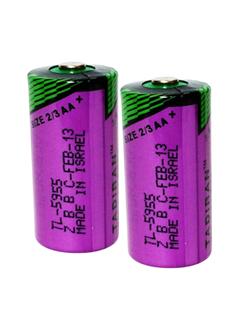 Pin nuôi nguồn PLC Tadiran TL-5955 size 2/3AA 1200mAh lithium 3.6v Made in Israel