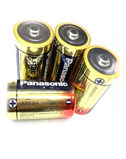 Pin nuôi nguồn Panasonic LR20.D (XWA) Alkaline 1.5v chính hãng Made in Belgium