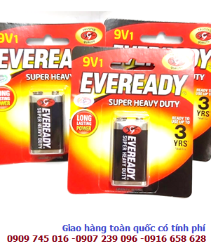 Pin Eveready 1222-BP1 SHD 9V 6F22 Super Heavy Duty _Made in Indonesia