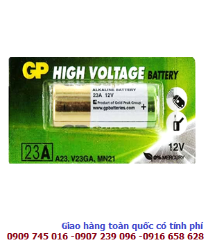 GP 23AE; Pin 12V GP 23AE High Voltage Alkaline chính hãng
