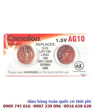 Pin Camelion AG10-LR1130-189 Plus Alkaline 1,5V _1viên