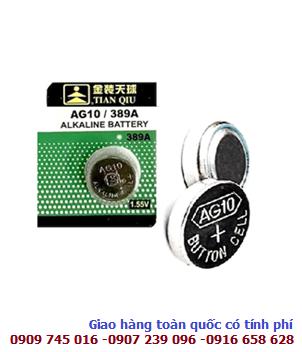 Pin Tainqiu AG10, LR1130 Alkaline 1.5v chính hãng