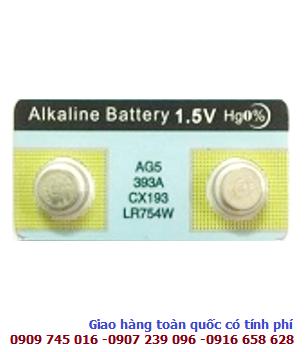 Pin 1.5v Tianqiu AG5,LR754,LR48,193,393 alkaline _1VIÊN