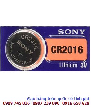 Pin Sony CR2016 lithium 3V chính hãng Sony Nhật _Made in Indonesia