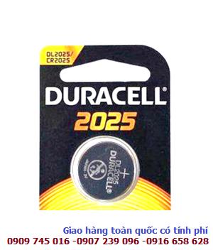 in 3V Lithium Duracell DL2025/CR2025 chính hãng Duracell