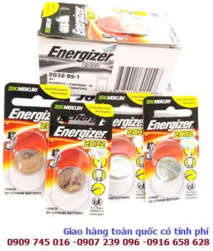 Energizer CR2032; Pin Energizer CR2032 Lithium 3V _Vỉ 1viên