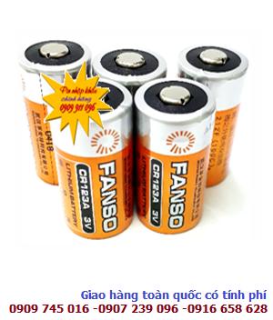 Fanso CR123A; Pin Fanso CR123A Lithium 3v / CR17345 PhotoLithium chính hãng