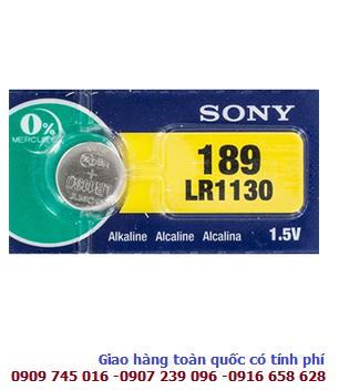Pin Sony LR1130, LR54, AG10, 189 Alkaline 1.5v chính hãng