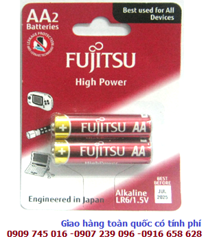 Pin tiểu AA Fujitsu LR6 High Power Alkaline 1.5V chính hãng Made in Indonesia