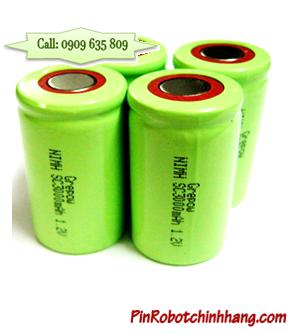NiMH SC3000mAh; Pin sạc chuyên dụng NiMH SC3000mAh 1.2v