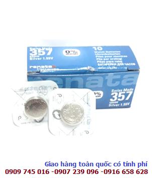 Pin 1.55v Silver Oxide Renata SR44SW/303 chính hãng Renata Made in Swiss